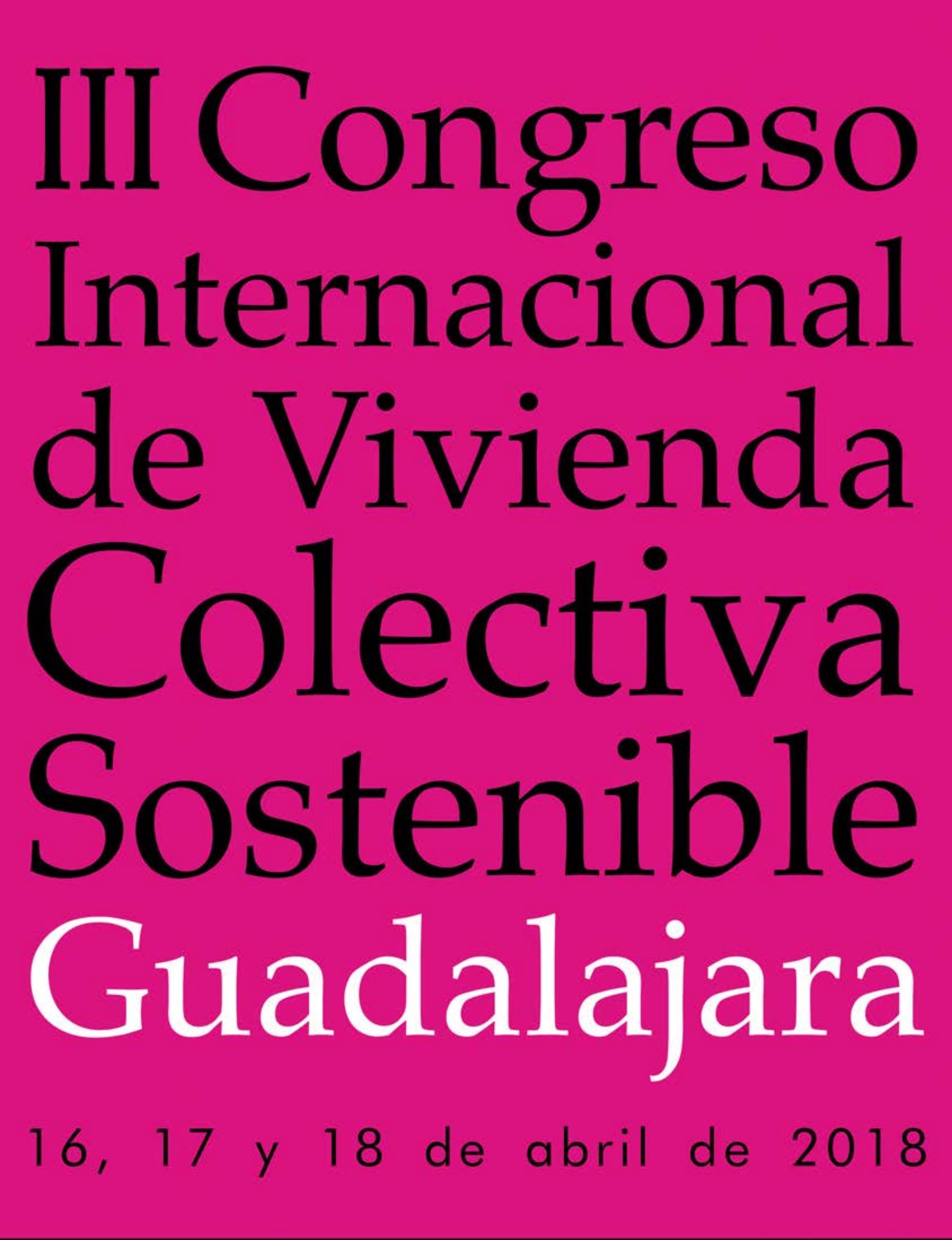 Iii Congreso Internacional De Vivienda Colectiva Sostenible