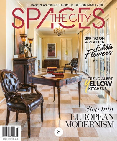 THECITY Spaces • Spring 2018 by THECITY Magazine El Paso Las Cruces
