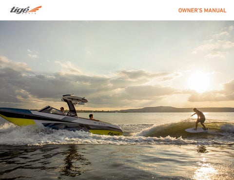 2018 Tige Owners Manual by Tige Boats - issuu