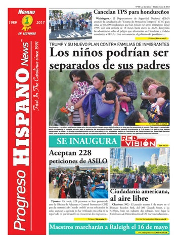 Progreso Hispano News Charlotte NC Ed#9 05092018 by Progreso Hispano ...