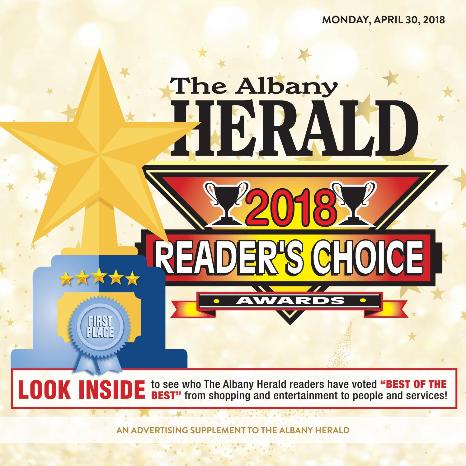 Readers choice 04302018 by albany herald issuu malvernweather Gallery