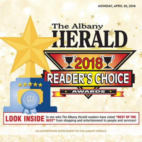 Finnicum Motor Company >> READERS CHOICE 04/30/2018 by Albany Herald - Issuu