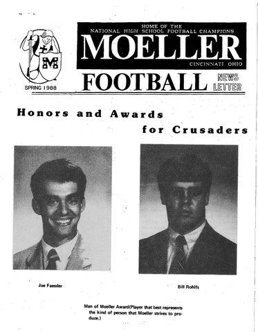 4782286c6d Moeller High School 1987-88 Football Newsletters by Archbishop ...