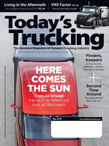 Today's Trucking May 2018