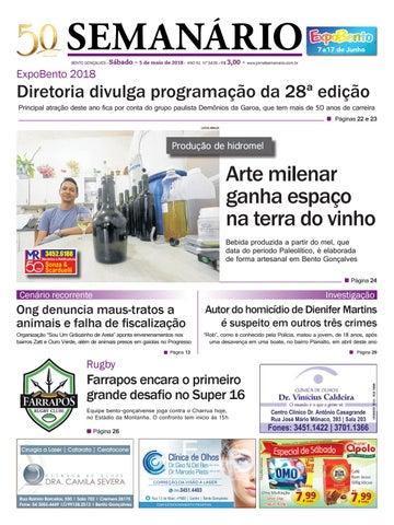 7c40eff9381 Jornal Semanário – 5 de maio de 2018 – Ano 51 – Nº 3435 by Jornal ...