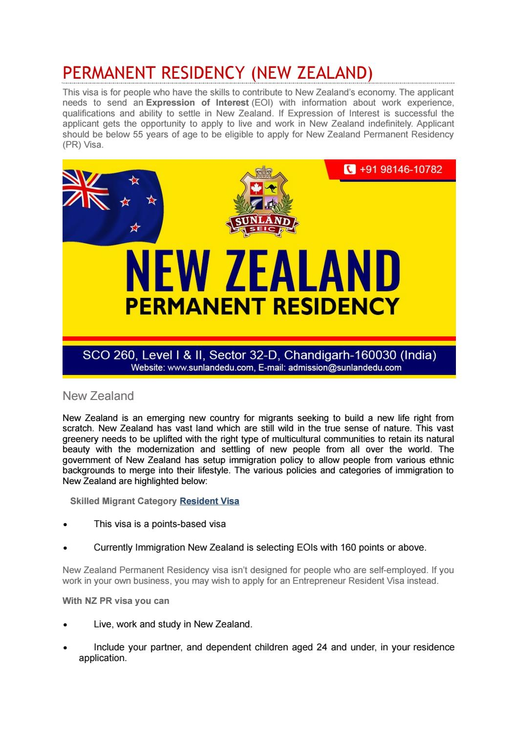 Visa Consultant for New Zealand in Chandigarh by James