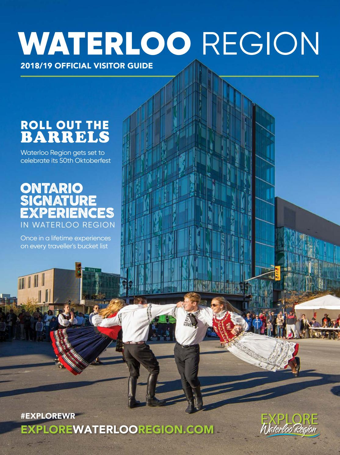 2018/2019 Explore Waterloo Region Official Visitor Guide by ...