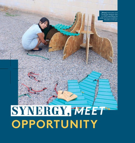 Page 10 of Synergy, Meet Opportunity