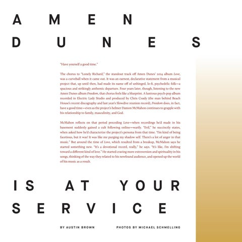 Page 20 of Amen Dunes Is at Your Service