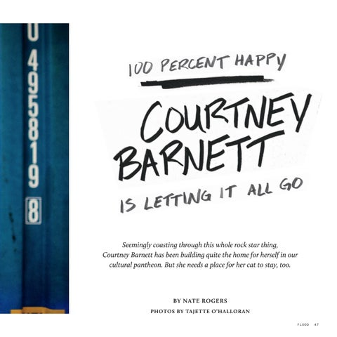 Page 49 of 100 Percent Happy: Courtney Barnett Is Letting It All Go