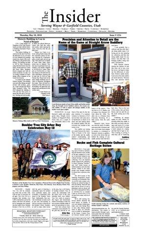 The Wayne Amp Garfield County Insider May 10 2018 By