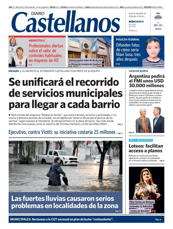 Diario Castellanos 09 05 by Diario Castellanos - issuu