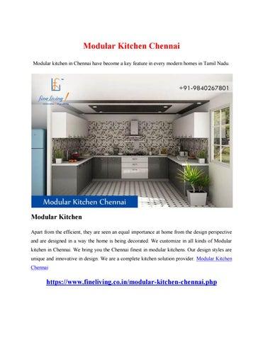 Modular Kitchen Chennai by yandex6810 - issuu