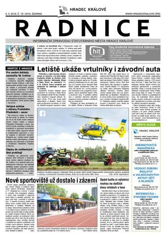 Radnice 18 2018 by Statutární město Hradec Kralové - issuu 0306fcaddf