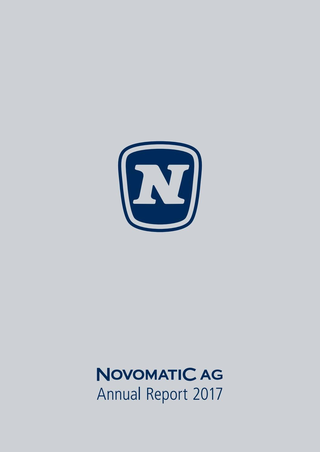 2421378bb51 NOVOMATIC AG Annual Report 2017 by NOVOMATIC Gaming Industries - issuu