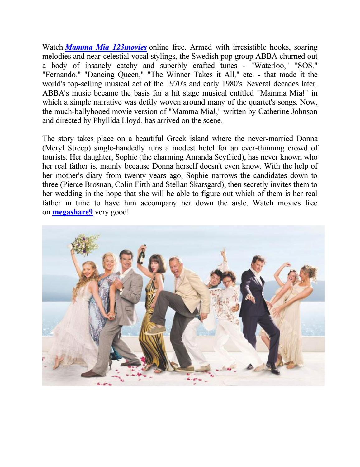 Watch Mamma Mia Free Online