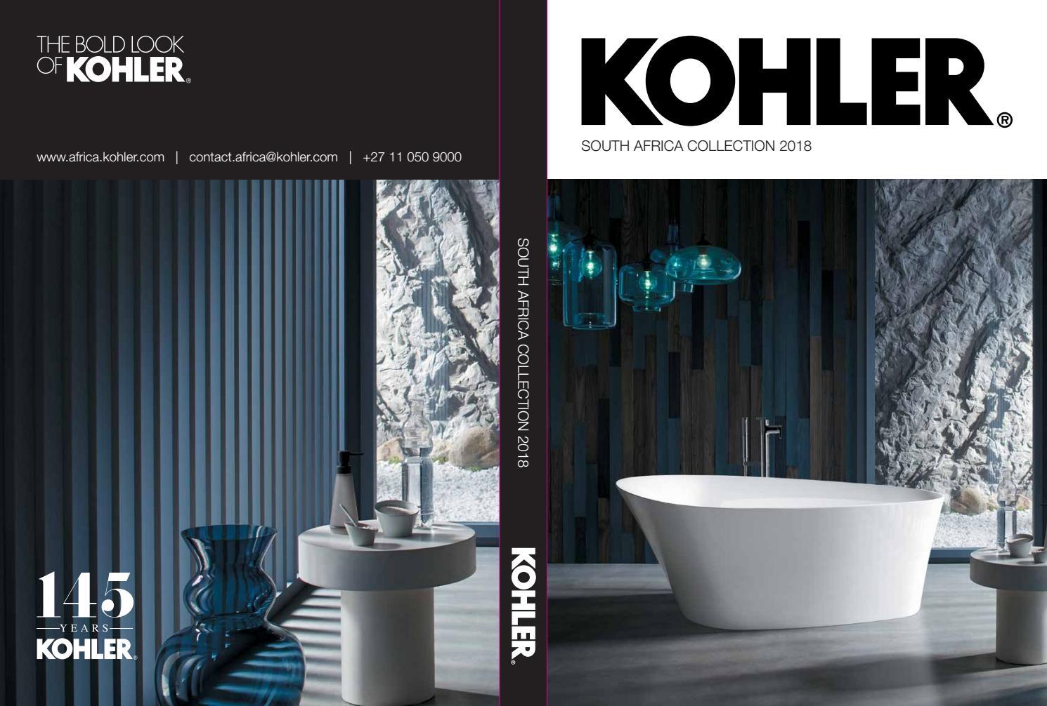 Kohler Bathroom Collection 2018 By New Media B2b Issuu