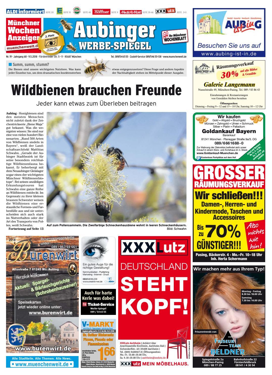 KW 19-2018 by Wochenanzeiger Medien GmbH - issuu