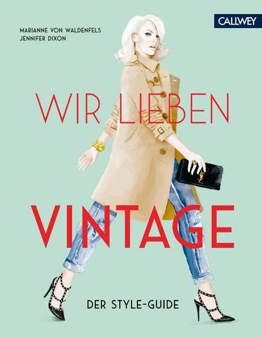 ae8cf80e23270 Wir lieben Vintage by Georg D.W. Callwey GmbH   Co. KG - issuu
