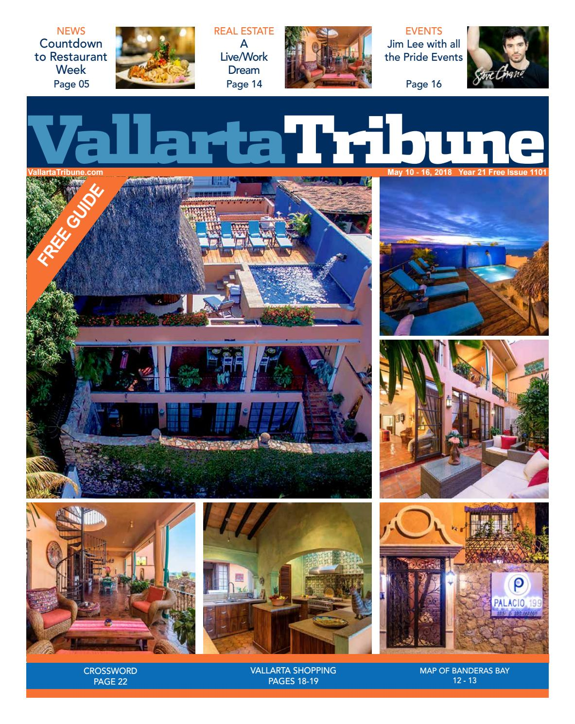 iSSUE 1101 May 10 16, 2018 by Vallarta Tribune issuu