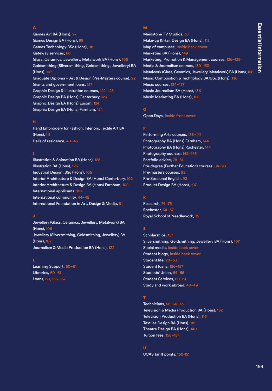 Uca Prospectus 2019 By University For The Creative Arts Issuu