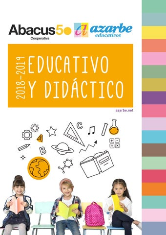 4469006812 Material Educativo y Didáctico 2018 by Azarbe Educativos - issuu