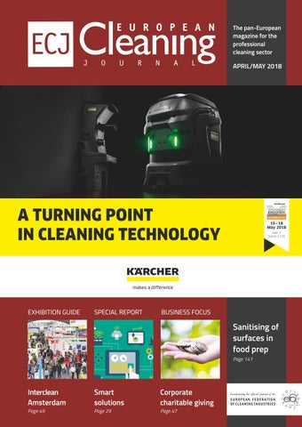 April/May 2018 by European Cleaning Journal - issuu