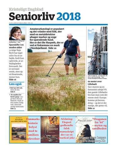 582e3dc97d1 Seniorliv 2018 TILLÆG TIL KRISTELIGT DAGBLAD LØRDAG 7. APRIL 2018