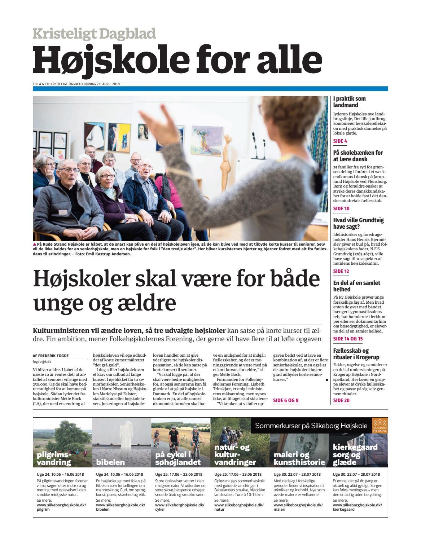 826ba673286f Højskole for alle by Kristeligt Dagblad - issuu