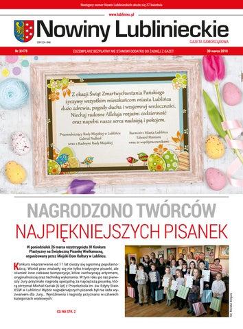 Nowiny Lublinieckie Nr 3 25 Marca 2016 By Promocja Promocja Issuu