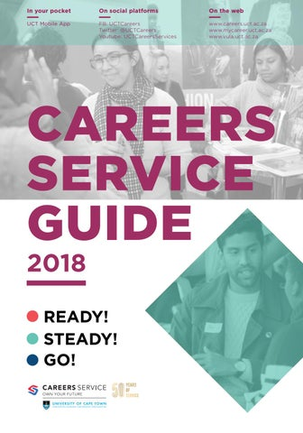Career Services Guide 2018 by UCT Careers - issuu