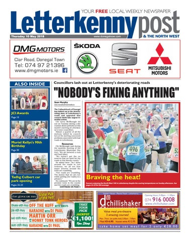 Letterkenny Post 10 05 2018 By River Media Newspapers Issuu