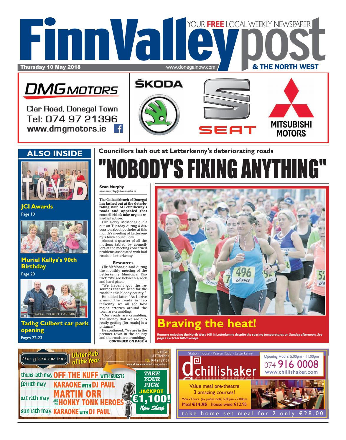 Finn valley post 10 05 2018 by River Media Newspapers issuu