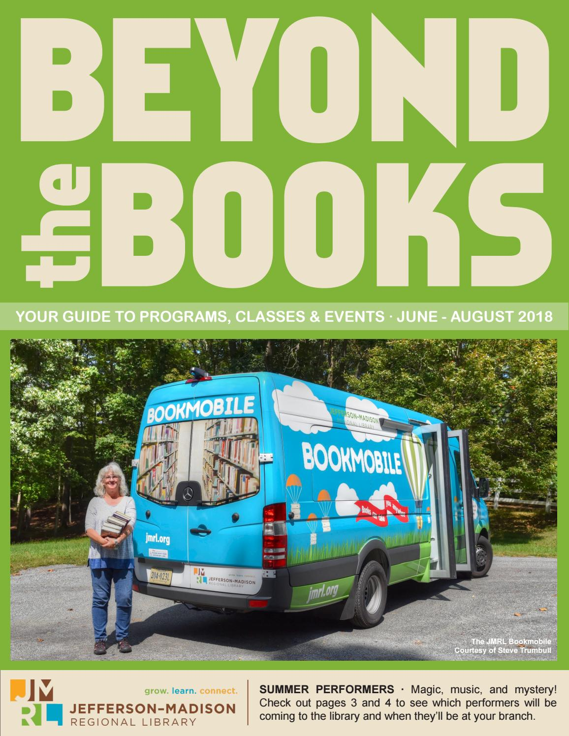 Beyond the Books: June-August 2018 by Jefferson-Madison
