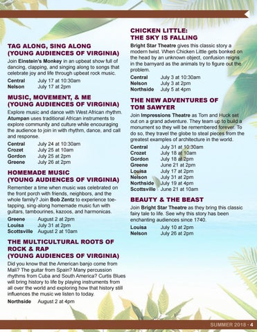 Page 5 of Summer Performers