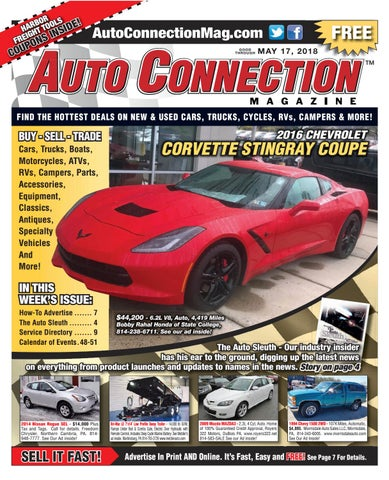05-17-18 Auto Connection Magazine by Auto Connection