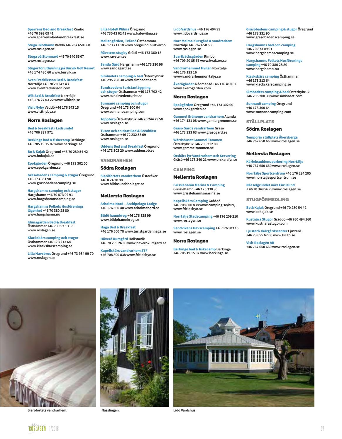 Magasin Roslagen 2018 By Visit Roslagen Issuu