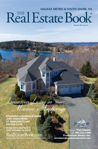 Volume 26 Issue 2 By The Real Estate Book Nova Scotia