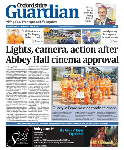 10 may 2018 oxfordshire guardian abingdon by Taylor