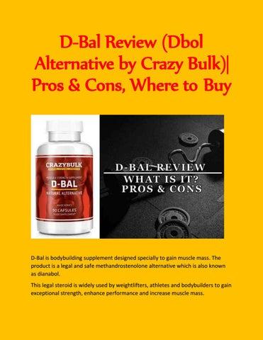 e7014f32a9ac D-Bal Review (Dbol Alternative by Crazy Bulk)