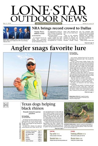 61d9180693fe1 May 11, 2018 - Lone Star Outdoor News - Fishing & Hunting by Craig ...