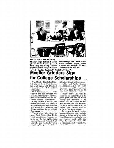 24347b27 FOOTBALL SCHOLARSHIPS Moeller High School football scholarships