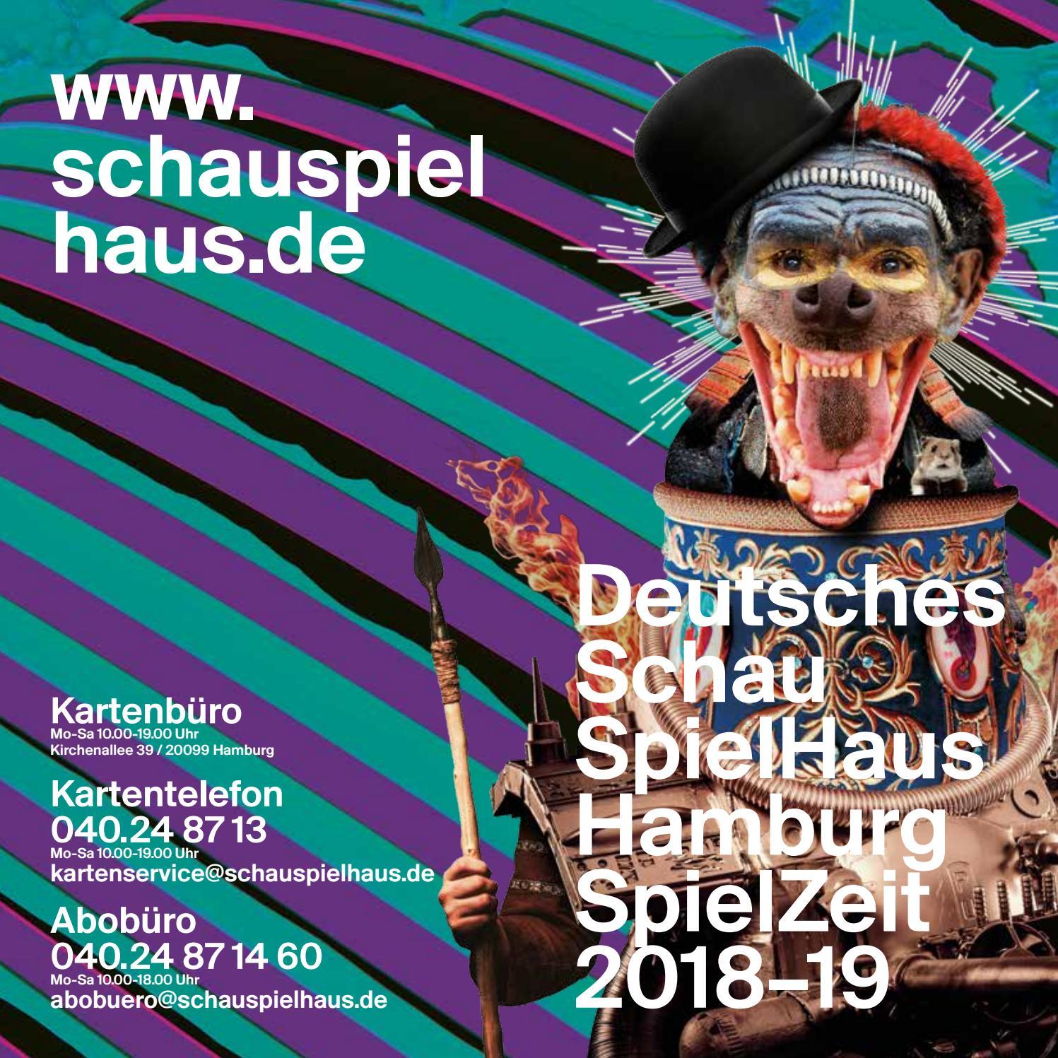 Deutsches Schauspielhaus Spielzeitheft 2018-19 by Deutsches ...