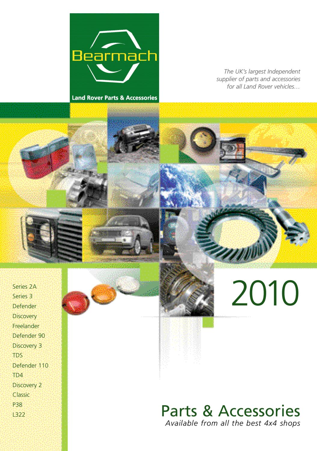 Catalogo Bearmach 2010 By Edicionesbolboreta Issuu 1995 Defender 90 Steering Linkage Diagram