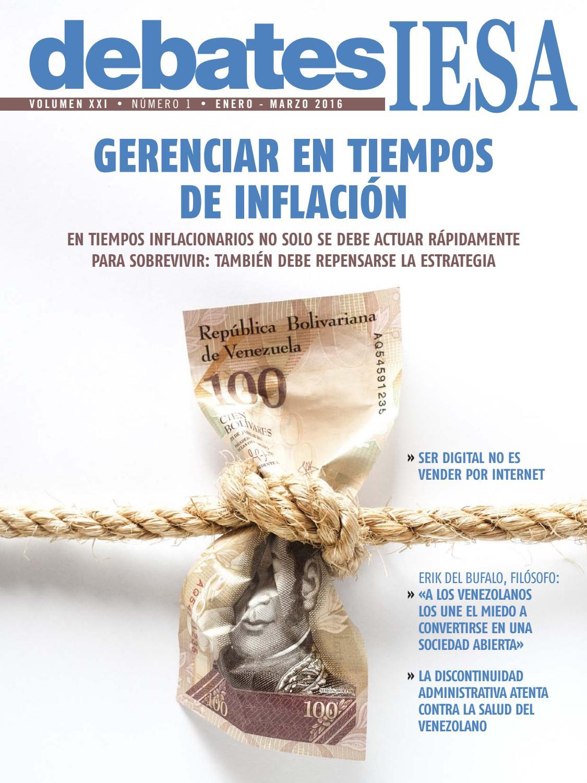 f2a4224b Revista Debates IESA Volumen XXI - Número 1 by Debates IESA - issuu