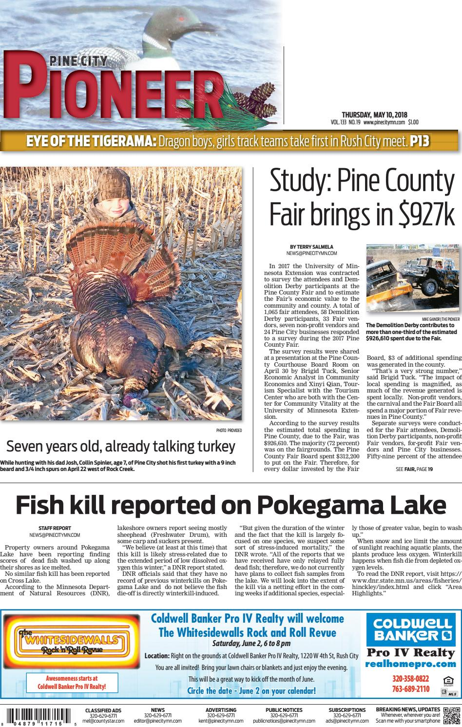 E Edition 051018 By Pine City Pioneer Issuu