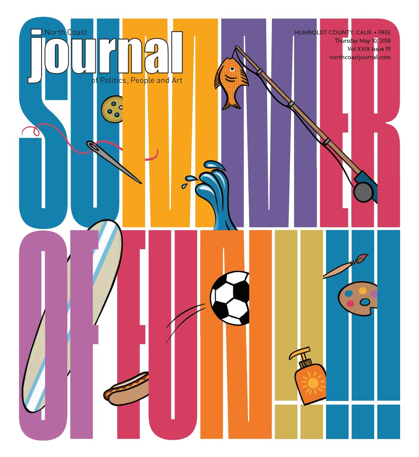 North Coast Journal 5 10 18 Edition By Issuu Hula Hoop Circuit Game A Circle Of Friends Try To Advance Hulu
