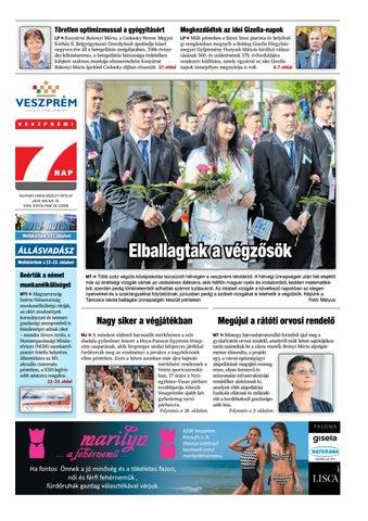 Veszprémi 7 Nap - 2018. 05. 10. by Maraton Lapcsoport Kft. - issuu 3038906953