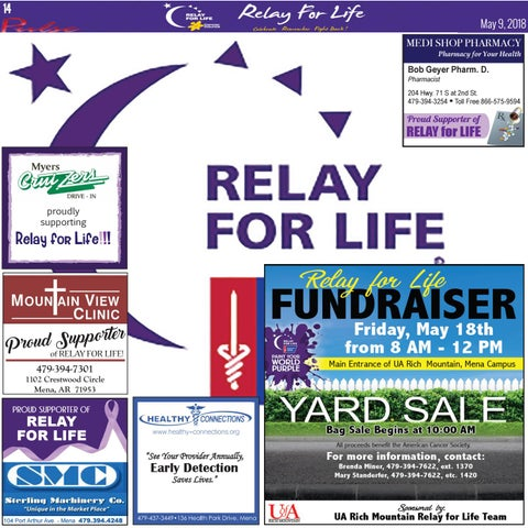 Page 14 of Relay 4 Life 2018