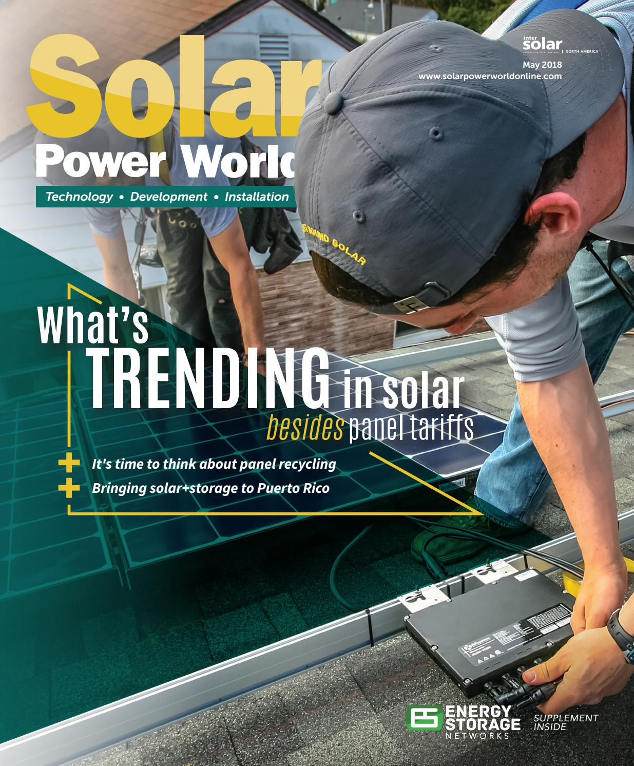 Solar Power World May 2018 By Wtwh Media Llc Issuu Nitrous Express Wiring Diagram On Up Battery Kill Switch